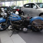 Harley Davidson Panhead FL 1200 1948. Tweedehands motoren