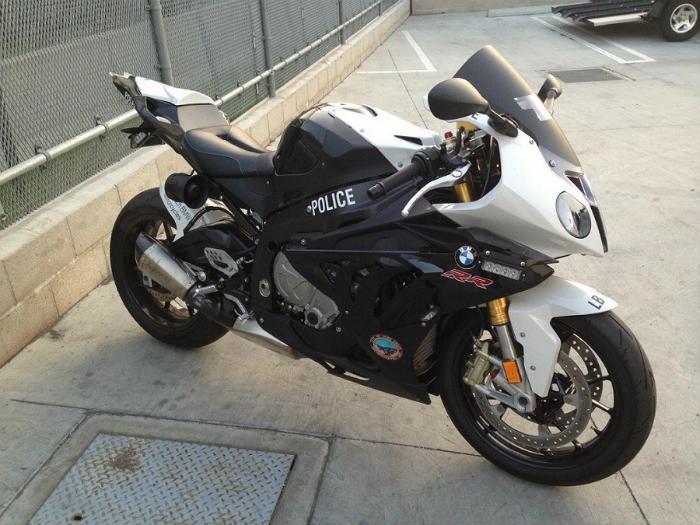 Politiemotor BMW S1000RR
