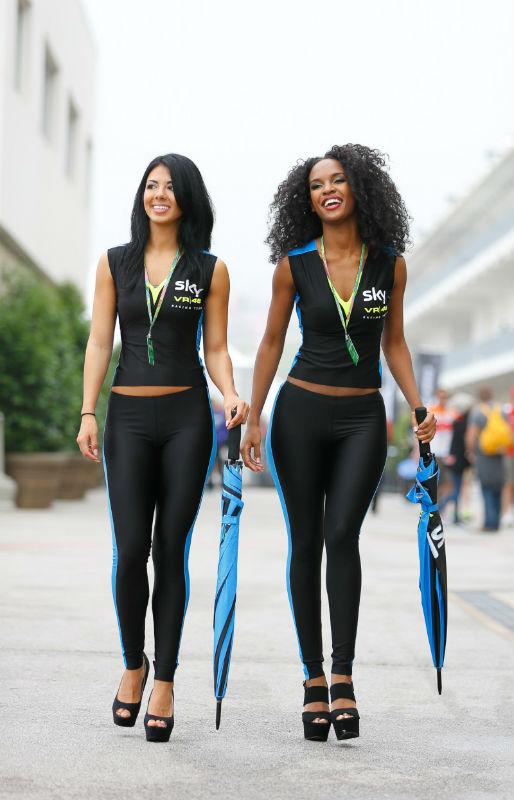 Paddock girls MotoGP of the Americas 2015